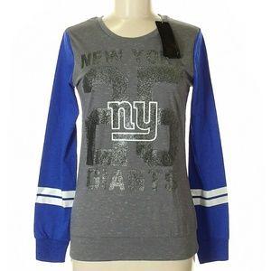 Nfl New York Giants glitter long sleeve